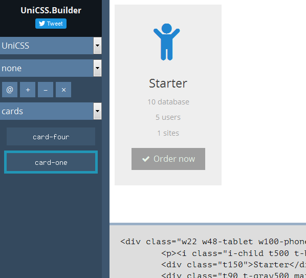 UniCSS.Builder